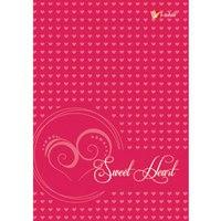 """Книга для записей """"романтика (сердечки)"""", 80 листов, а6, Канц-Эксмо (Listoff, Unnika Land)"""
