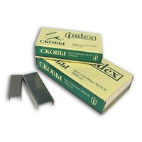 Скобы для степлера №24/6, Index (канцтовары)