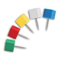 Кнопки силовые, квадратные, 18 мм, Index (канцтовары)