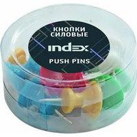 Кнопки силовые, 26 мм, Index (канцтовары)