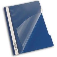 Папка-скоросшиватель, темно-синяя, а4, штрих-код, Durable