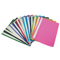 Папка-скоросшиватель, а4, фиолетовая, Index (канцтовары)