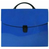 Портфель без отделений, синий, Index (канцтовары)