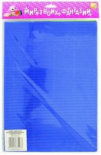 Набор цветного металлизированного гофрокартона, a4, 5 цветов (5 листов), Fancy Creative