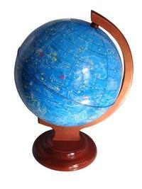 Глобус звездного неба на деревянной подставке, Глобусный мир
