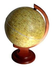 Глобус луны диаметром 210 мм на деревянной подставке, Глобусный мир