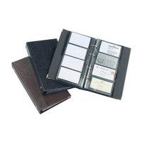 "Визитница ""visifix"", на 400 визиток, коричневая, Durable"