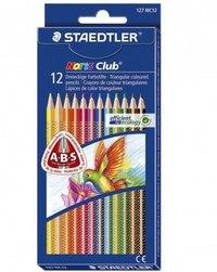 """Набор цветных карандашей """"noris club"""", треугольные, 12 цветов, Staedtler"""
