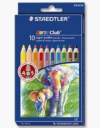 """Набор цветных карандашей """"noris club"""", 10 цветов, с точилкой, Staedtler"""
