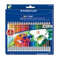 """Набор цветных карандашей """"noris club"""", с ластиком, 24 цвета, Staedtler"""