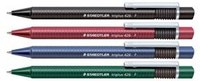 "Ручка шариковая ""triplus"", зеленая, Staedtler"