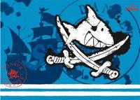 """Подложка для письменного стола """"capt'n sharky"""", Spiegelburg"""