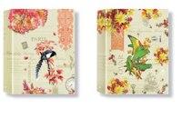 """Тетрадь на кольцах """"райские птицы"""", 80 листов, клетка, ErichKrause"""