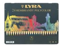 Набор цветных карандашей rembrandt polycolor, 24 цвета, LYRA
