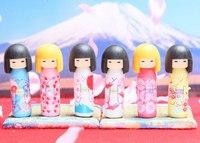 Ластик «японские куклы кокеши», Iwako