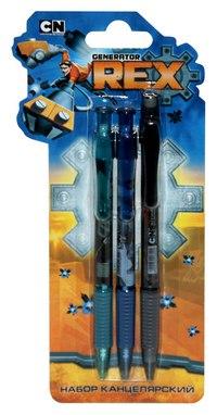 Набор: 2 шариковые ручки + механический карандаш, Generator Rex