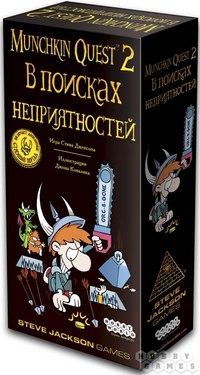 """Настольная игра """"манчкин квест-2. в поисках неприятностей"""", Hobby games"""
