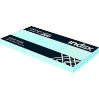 Бумага для заметок с липким слоем, 100 листов, 1 блок, Index (канцтовары)