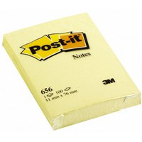 "Бумага для заметок с липким слоем ""post-it"", желтая, 100 листов, 3M"