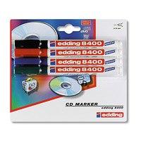 Набор ручек перманентных для компакт дисков, Edding