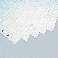 Бумага для флипчартов 65x93 см, клетка, белая, Magnetoplan