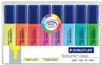 """Набор маркеров-текстовыделителей """"classic"""", 1-5 мм, 8 цветов, Staedtler"""