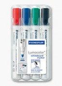 """Набор маркеров для досок """"lumocolor"""", 2 мм, 4 цвета, Staedtler"""