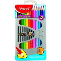 "Карандаши цветные ""color peps"", 12 цветов, точилка, ластик, Maped"