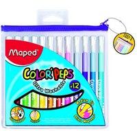 "Фломастеры ""color peps"", 12 цветов, Maped"