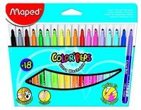 "Фломастеры ""color peps"", 18 цветов, Maped"