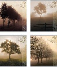 "Тетрадь ""пейзаж в тумане"", 60 листов, клетка, ErichKrause"