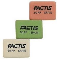 Набор ластиков для грифеля и чернил, 3 штуки, Factis