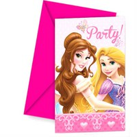"""Приглашения в конвертах """"принцессы дисней - сказочный мир"""", Procos S.A."""