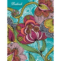 """Дневник для средних и старших классов """"цветочная фантазия"""", Канц-Эксмо (Listoff, Unnika Land)"""