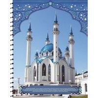 """Тетрадь на спирали """"мечеть-4"""", 96 листов, а5, клетка, Феникс+ (канцтовары)"""