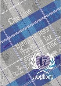 """Тетрадь """"шотландка"""", а5, 80 листов, клетка, Феникс+ (канцтовары)"""