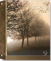 """Тетрадь на кольцах """"пейзаж в тумане"""", 80 листов, клетка, а5, ErichKrause"""