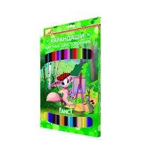 Карандаши цветные двусторонние, 36 цветов, Action!