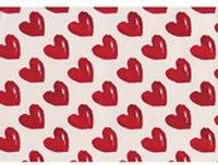"Упаковочная бумага ""красные сердца"", Susy Card"