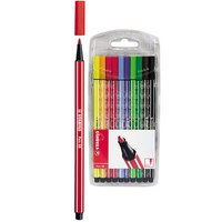 """Фломастеры """"pen 68"""", 10 цветов, STABILO"""