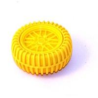 """Точилка для карандашей с ластиком """"колесо"""", желтая, China Bluesky Trading Co"""