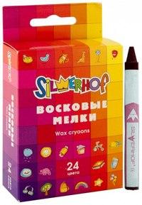 """Восковые мелки """"emotions"""", 24 цвета, Silwerhof"""