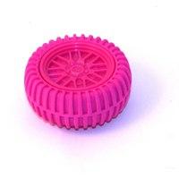 "Точилка для карандашей с ластиком ""колесо"", розовая, China Bluesky Trading Co"
