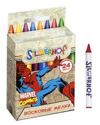 """Восковые мелки """"marvel comics"""", 24 цвета, Silwerhof"""