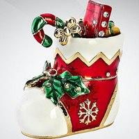 "Шкатулка ""сапожок с подарками"", Mister Christmas"