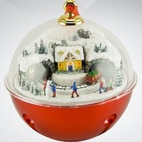 """Композиция музыкальная """"игрушка с поездом"""", Mister Christmas"""