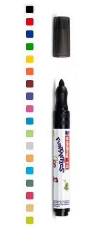 """Набор фломастеров-маркеров для рисования """"funtastics"""", 3 мм, 18 цветов, Edding"""