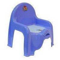 Горшок-стульчик детский, сиреневый, М-Пластика