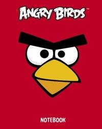 """Бизнес-блокнот """"angry birds"""", а6, 80 листов, 5-цветный блок, Hatber"""