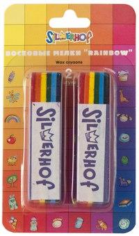 """Восковые мелки """"emotions"""", rainbow, 2 штуки, Silwerhof"""